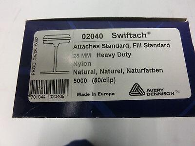 5.000 T-End Fäden 25mm Nylon Kunststofffäden für Heftpistole Heftfäden
