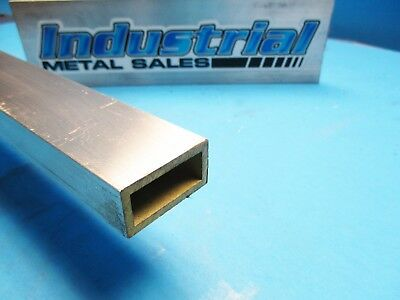 34 X 1-12 X 60-long X 18 Wall 6063 T52 Aluminum Rectangle Tube