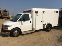 DURAMAX  DIESEL. AMBULANCE IN MINT  CONDITION  Calgary Alberta Preview