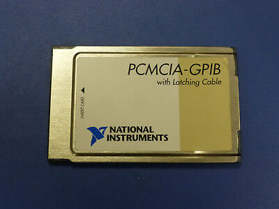National Instruments Ni Pcmcia-gpib Interface Card 186736c-01