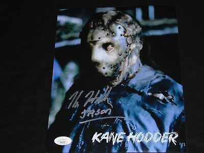 KANE HODDER Signed Friday the 13th JASON VOORHEES Autograph