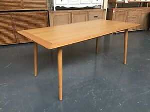 LARSSON - DINING TABLE AND BUFFET Leumeah Campbelltown Area Preview