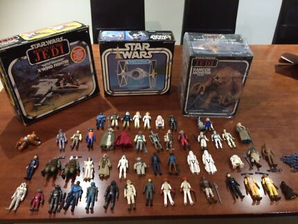 Wanted old star wars figures and ships 1977 to 1985 Woodvale Joondalup Area Preview