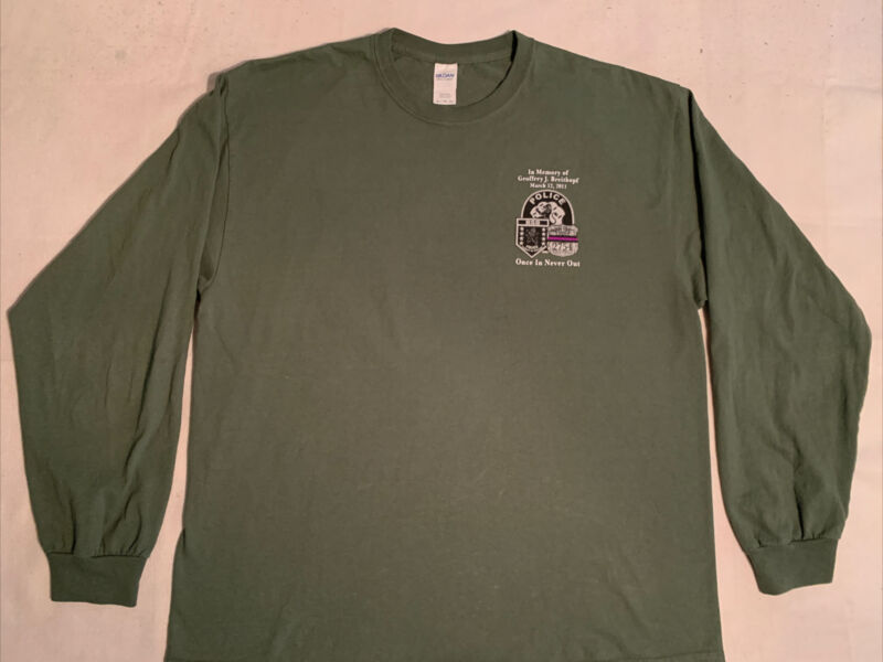 NCPD Nassau County Police T-Shirt Sz XL Long Island NY NYPD