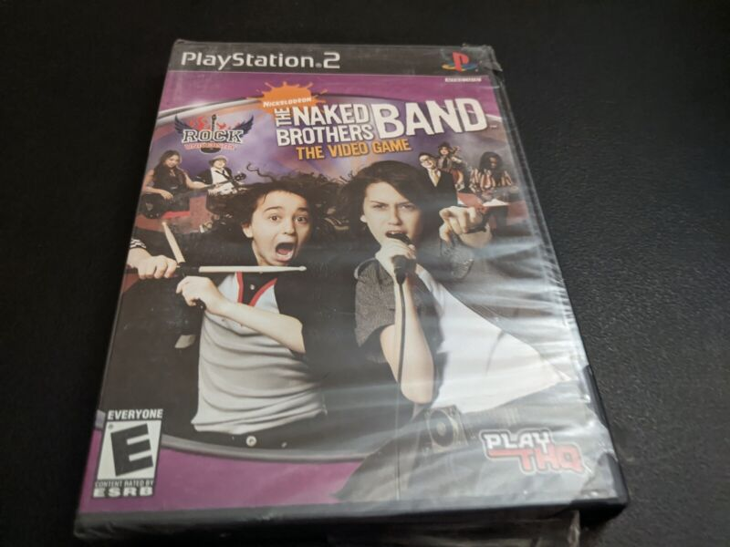 The Naked Brothers Band the videogame (ps2 used game