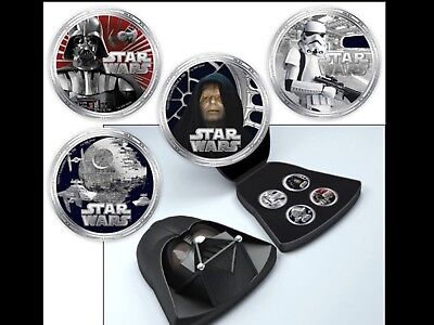 One of a kind pure silver special edition Star Wars coins
