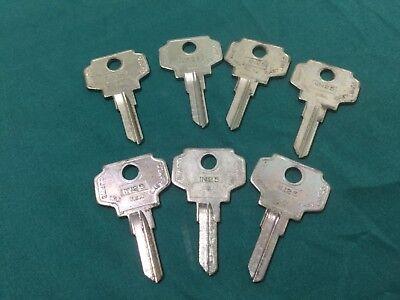 Bargman By Curtis In25 Key Blanks Set Of 7 - Locksmith