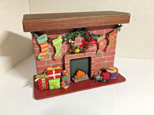 6 HANDMADE CHRISTMAS GREETING CARDS WITH CHIMNEY STORAGE BOX, FREE SHIPPING