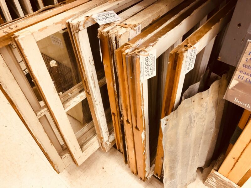 Vintage Windows For Projects; SHIPPING IS INCLUDED