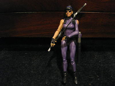 "Marvel Legends open 6"" Kate Bishop Hawkeye - mint & complete from TRU 3-pack."