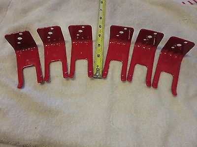 6-fork Style Wall Mount 5 10 Lb. Size Fire Extinguisher Amerex Brackets New