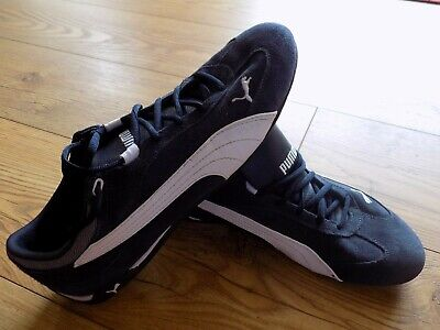 VERY GOOD CONDITION PUMA FAST CAT TRAINER DRIVING MOTORSPORT SUEDE