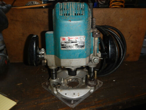 """MAKITA 3612BR PLUNGE ROUTER WITH 1/2"""" COLLET  WOODWORKING TOOL"""