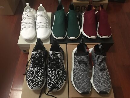 Adidas nmd and eqts