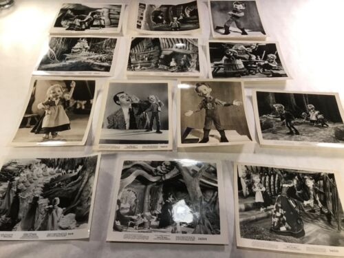 "Vintage B/W Movie Stills Originals 1954 "" HANSEL and GRETEL "" Michael Myerberg"