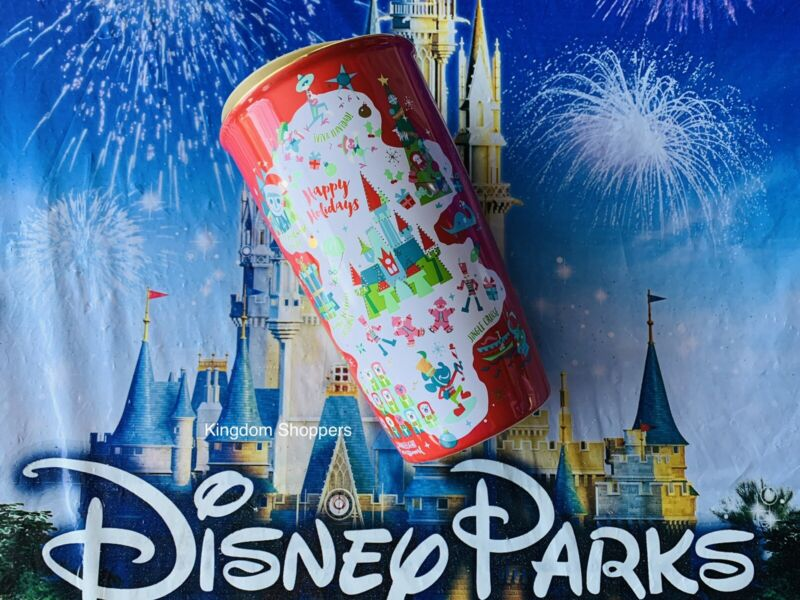 2020 Disney Parks Starbucks Happy Holidays WDW Icons Tumbler Coffee Mug New