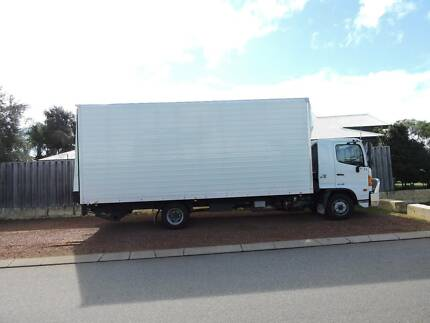 HINO FD 1124 PANTECH WITH TAIL LIFT TRUCK Landsdale Wanneroo Area Preview