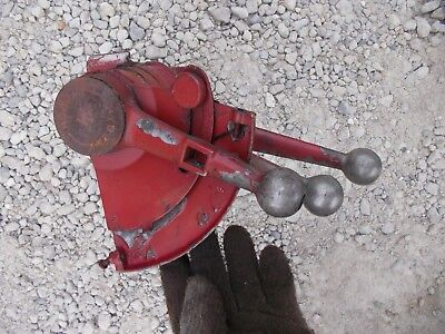 Farmall 560 460 Tractor Ih 3 Hydraulic Control Levers Depth Control Fan Cap