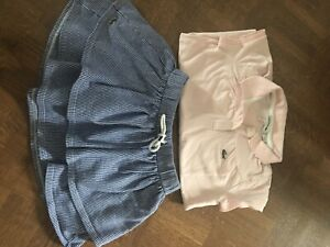 LACOSTE polo & skirt - size 6