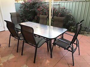 URGENT!  PRICE DROPPED! 9-Piece Outdoor Setting Gymea Sutherland Area Preview