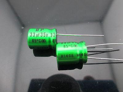 Japan 2pcs Nichicon Muse Es Bp 33uf 35v 33mfd Audio Capacitor Caps