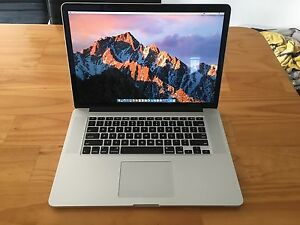 Apple MacBook Pro Retina 15 Late 2013 i7 2Ghz 8GB Ram 256GB HD Merewether Newcastle Area Preview