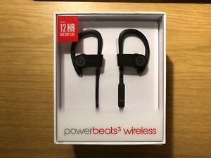 New Powerbeats 3 wireless headphone (Black)