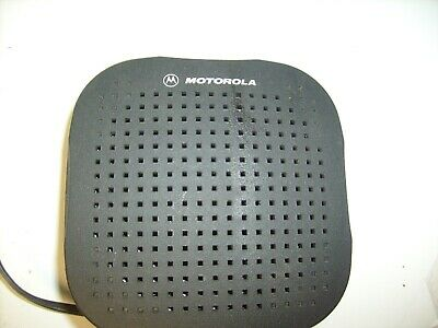 Motorola Hsn4038a External Radio Speaker For Cb Ham Two Way Radio Rat Rod