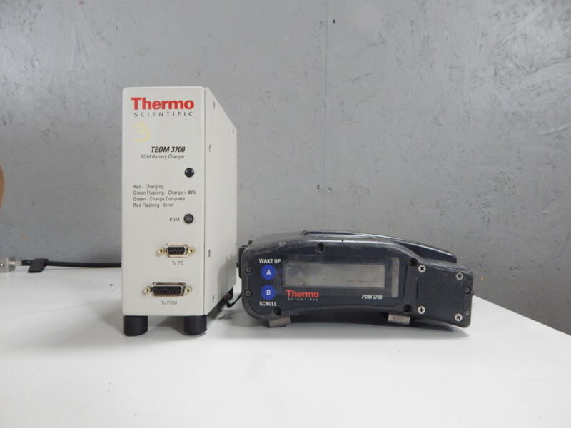 Thermo Scientific PDM3700 Personal Dust Monitor (PN:  42-009904-3700)