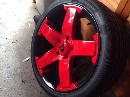 "Rare ATS 19"" rims & Dunlop sp sport maxx tyres! CUSTOM PAINT! Bateau Bay Wyong Area Preview"