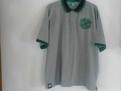 CELTIC FOOTBALL SOCCER CLUB POLO SHIRT XXL
