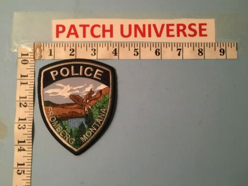 FROMBERG  MONTANA  SHOULDER PATCH   L049