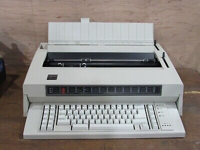 Ibm Wheelwriter 6 Type 674x Vintage Electronic Typewriter Tested Working