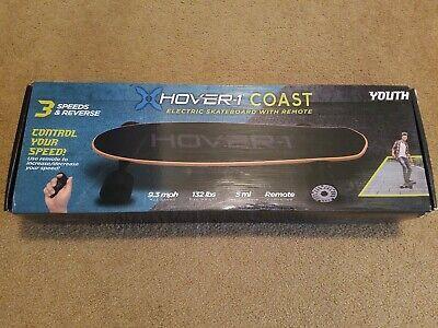 Hover-1 Coast Electric Skateboard 9mph 5mi Youth Kids w/ Remote New HY-SRMT-BLK