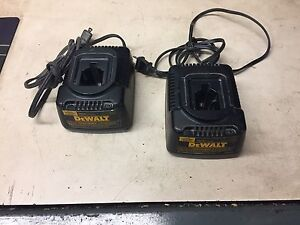 Dewalt 18v battery chargers