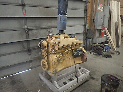 John Deere 6359df Diesel Engine Runs Exc. Low Hours 6359 359 Tractor 5.9