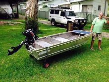 Alluminium boat and motor Lemon Tree Passage Port Stephens Area Preview