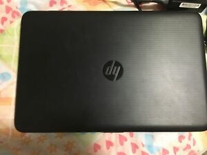 HP laptop practically brand new