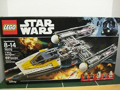 Lego Star Wars #75172 Y-Wing Starfighter Moroff SEALED