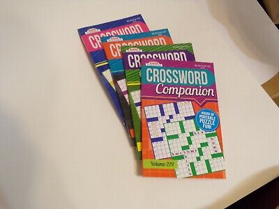 """KAPPA CROSSWORD PUZZLE BOOKS, 8 X 5 """", QT 4 = 172 PUZZLES, FREE SHIPPING"""