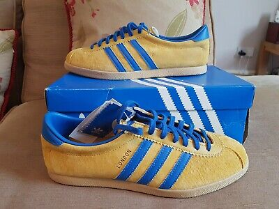 Adidas london trainers sunshine  10 uk bought in Berlin koln Stockholm