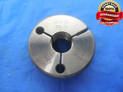 78 20 Un 2a Thread Ring Gage .875 No Go Only P.d. .8378 N-2a 78-20 Tool