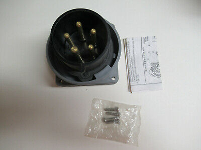 Hubbell Hbl530b5w Watertight Pin And Sleeve Inlet