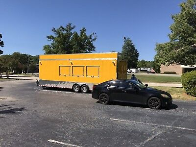 Food Truck Or Concessions Trailer