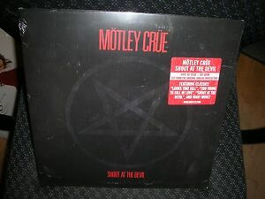 MOTLEY CRUE **Shout at the Devil **BRAND NEW 180 GRAM RECORD LP VINYL
