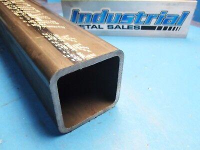 3-12 X 12-long X 14wall Steel Square Tube-3.5 Steel Square Tube X .250w