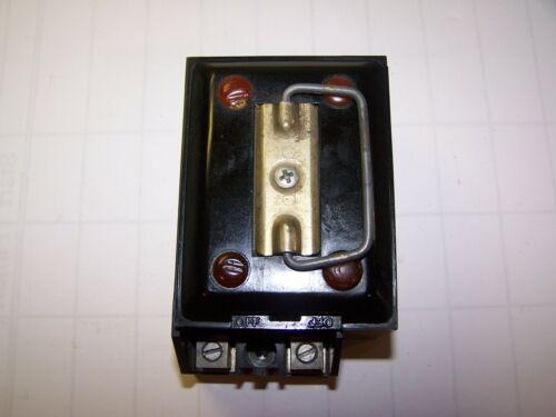 FEDERAL PACIFIC FPE 60 AMP FUSE BLOCK 2 POLE 240 VAC C60-2 / C602