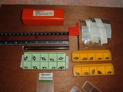 Boring Bar M100 Dex 38 X 4 12 20 New Carbide Inserts Dpgt Wcmt Walter