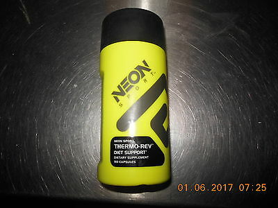 Neon Sport Thermo Rev Thermogenic Fat Burner Weight Loss Supplement 90 capsules