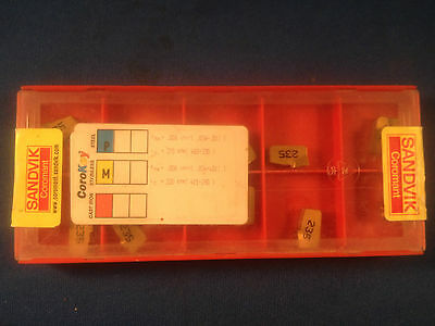 Nib Sandvik Coromant T-max Q-cut Insert Grade 235 P45 M35 10-pack